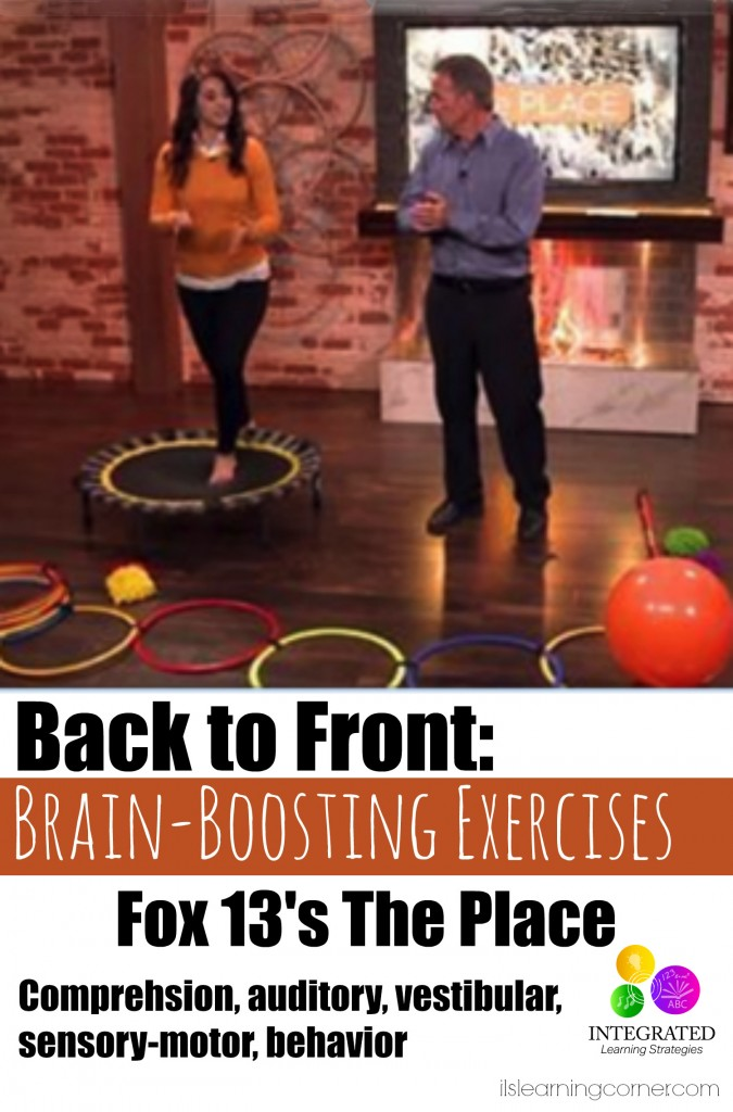 Fox 13's The Place: Brain boosting exercises to do with your kids | ilslearningcorner.com