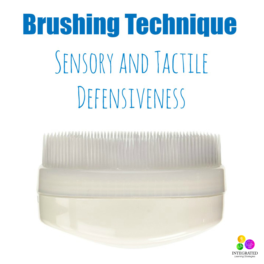 Brushing Technique for Sensory Tactile Defensiveness ...