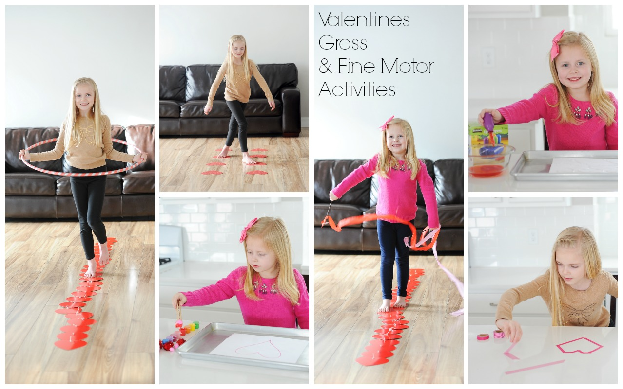Brain-Building Valentines Activities: Midline Crossing, Fine Motor, Vestibular, Visual Planning