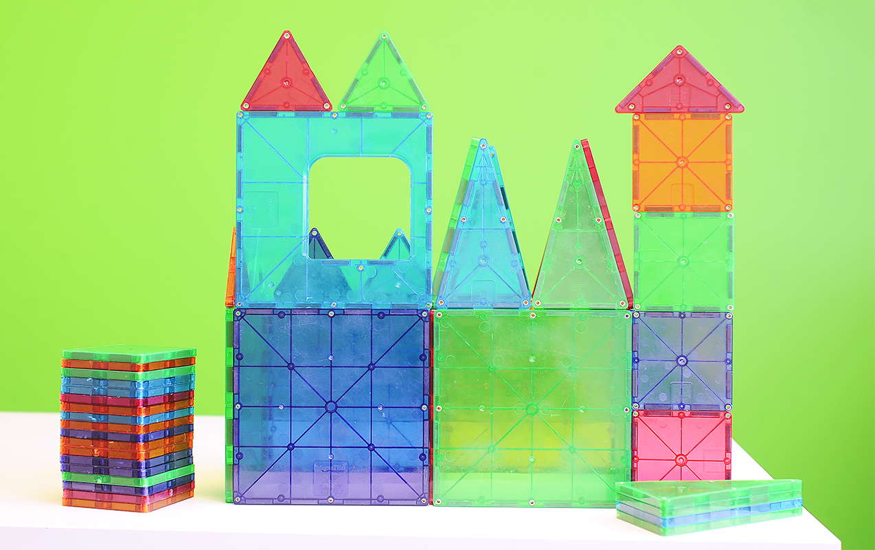 Why MAGNA TILES are good for Hand-eye Coordination, Problem Solving, Sensory Issues & Motor Planning