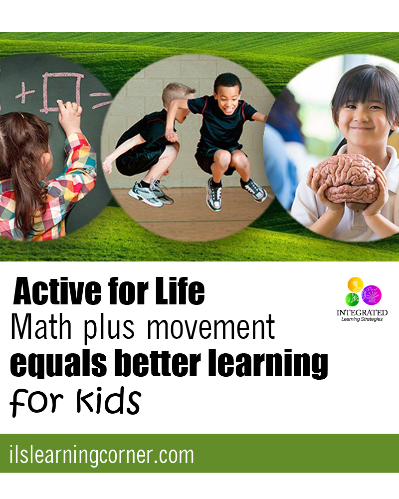 Math plus movement equals better learning for kids | ilslearningcorner.com