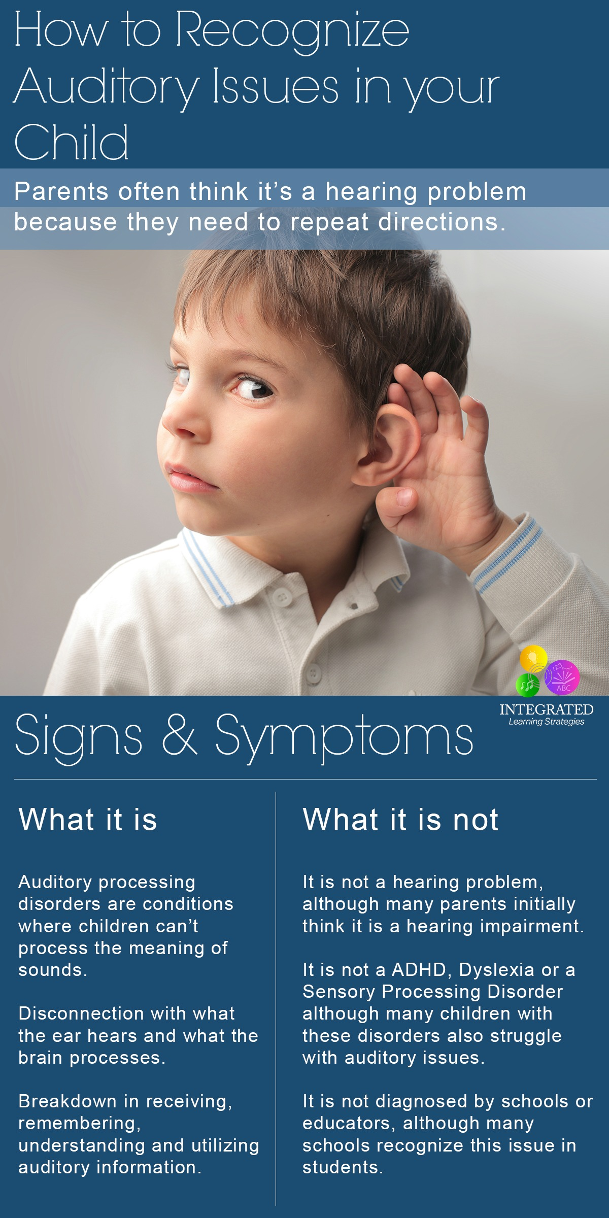 adhd and auditory process