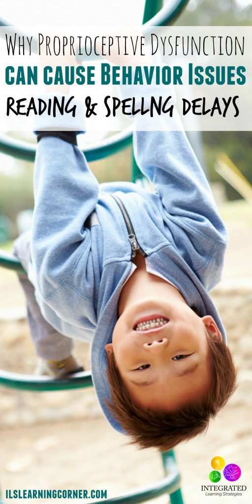 Proprioceptive Dysfunction Causes Sensory Seeking and Sensory Avoiding Behavior | ilslearningcorner.com