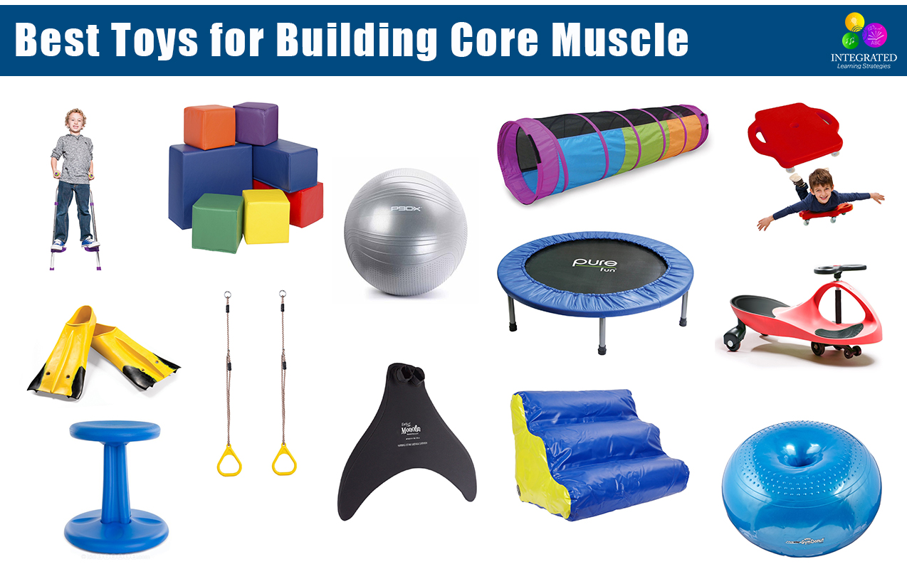 CORE MUSCLE: Toys for Building Posture, Core Muscle, Motor Skills and Balance