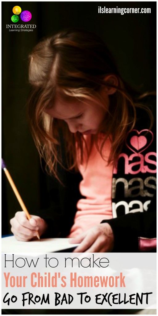Homework Tips: How To Make Your Kid's Homework Go From Bad To Excellent | ilslearningcorner.com