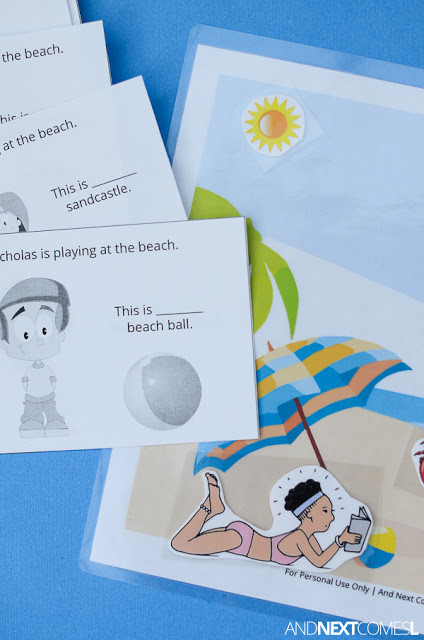 Using Beach Home Therapy Camp for Sensory Integration, Social Cues and Non-Verbal Children   ilslearningcorner.com