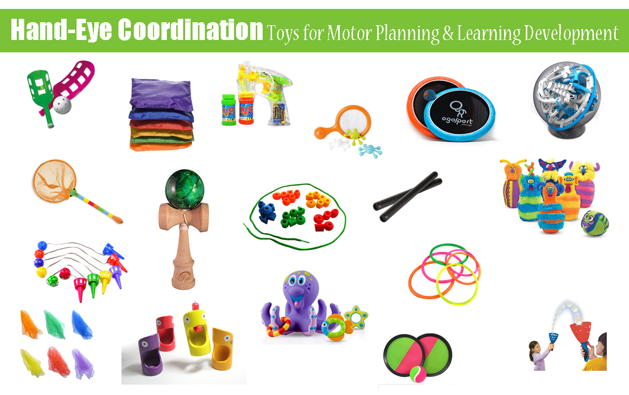 Hand-eye Coordination Toys for Better Motor Planning, Executive Functioning and Learning Development