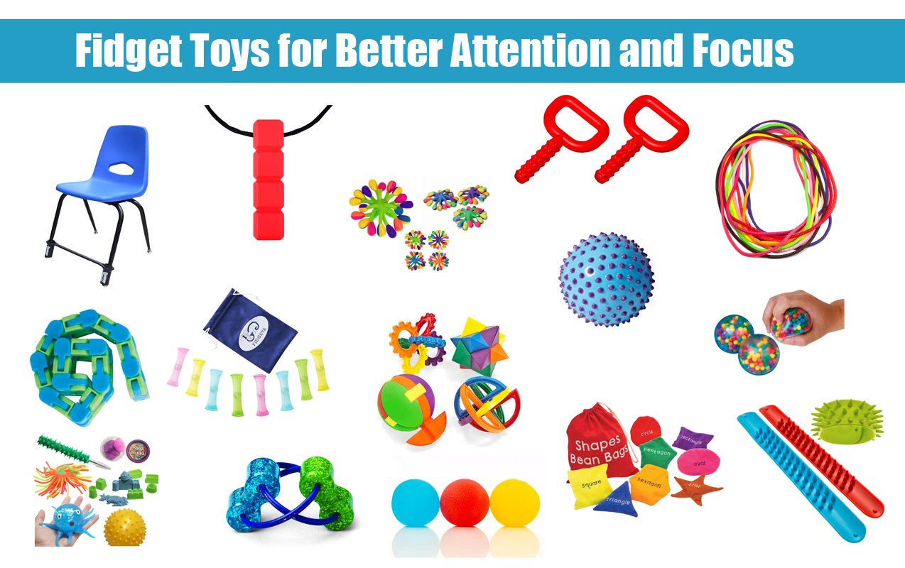 Fidget Toys For Adhd : Fidget tools for better attention and focus in the