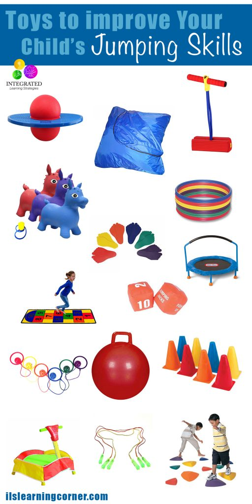 Jumping Toys: Toys to Help Your Child Learn how to Jump | ilslearningcorner.com
