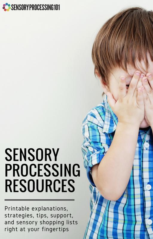 50 Free Sensory Printables and New Sensory Processing 101 | ilslearningcorner.com