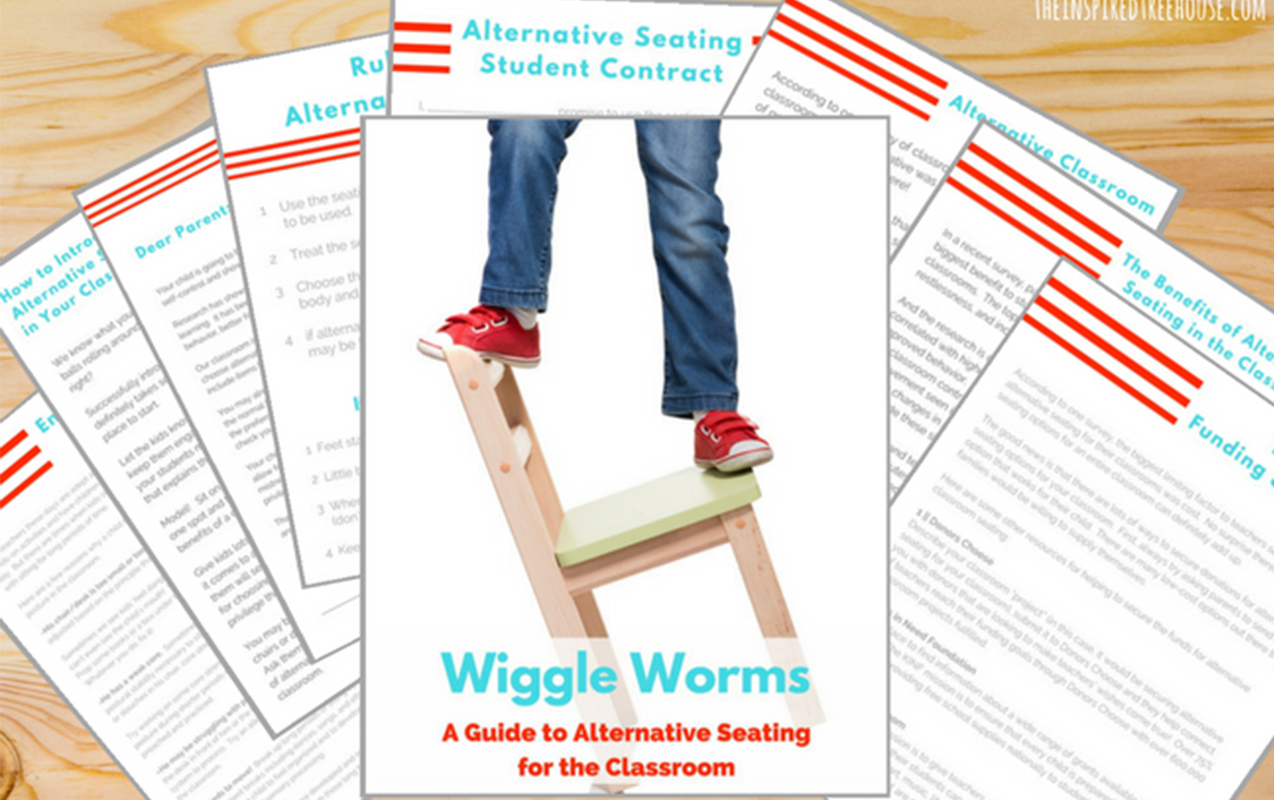 Fidgety Children: Alternative Classroom Seating for Wiggle Worms in the Classroom