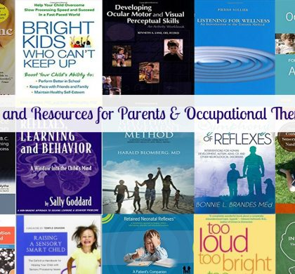 Books and Resources for Occupational Therapists, Parents and Educators