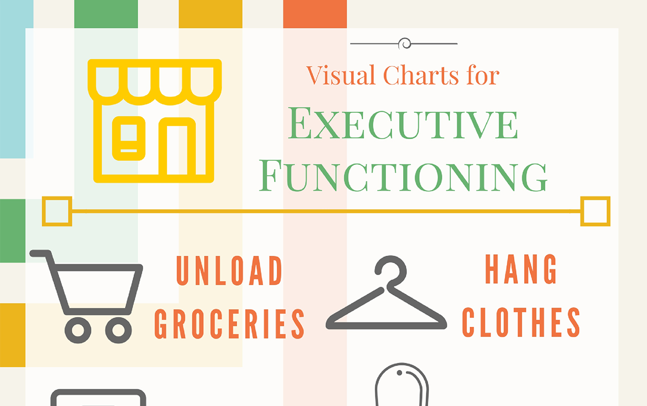 EXECUTIVE FUNCTION: Visual Charts for Kids Struggling with Executive Function & Organization
