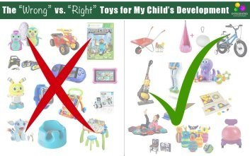 "The ""WRONG"" Toys for Holding Your Child Back and the ""RIGHT"" Toys for Building Your Child's Brain"