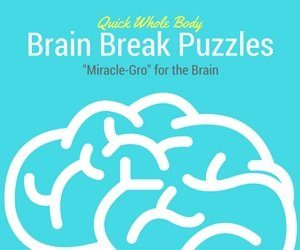 "Brain Breaks: Simple Brain Break Puzzles to ""Spark"" and Awaken the Brain for Higher Learning 