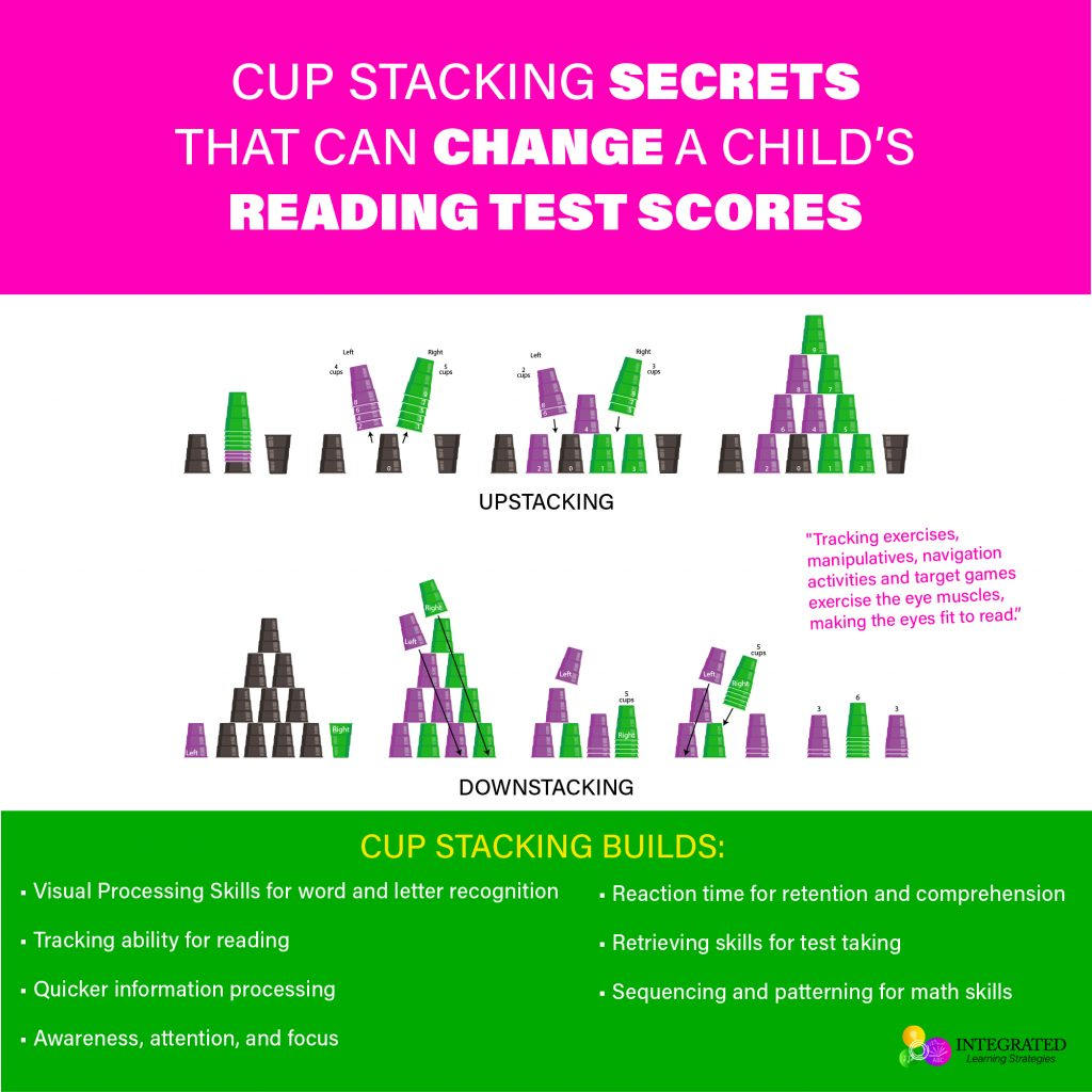 CUP STACKING: Studies Show Cup Stacking Improves Reading Test Scores and Cross-Patterning | ilslearningcorner.com