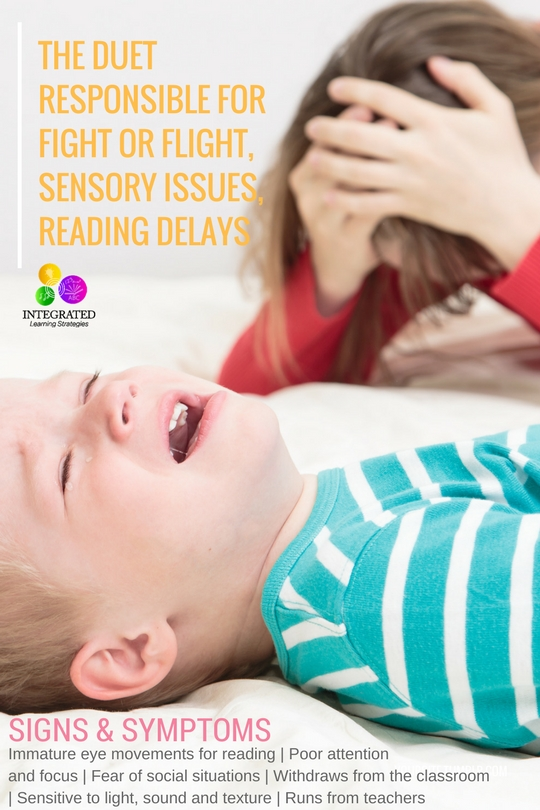 Retained Primitive Reflexes that Cause Sensory Sensitivities, Reading Delays, Fear and Fight or Flight | ilslearningcorner.com