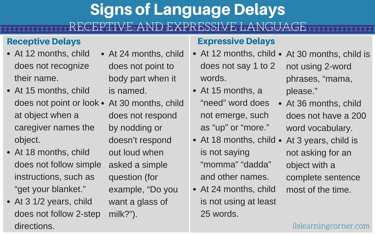 Late Bloomer or LANGUAGE DELAY? Common Delays in Your Child's Language Development