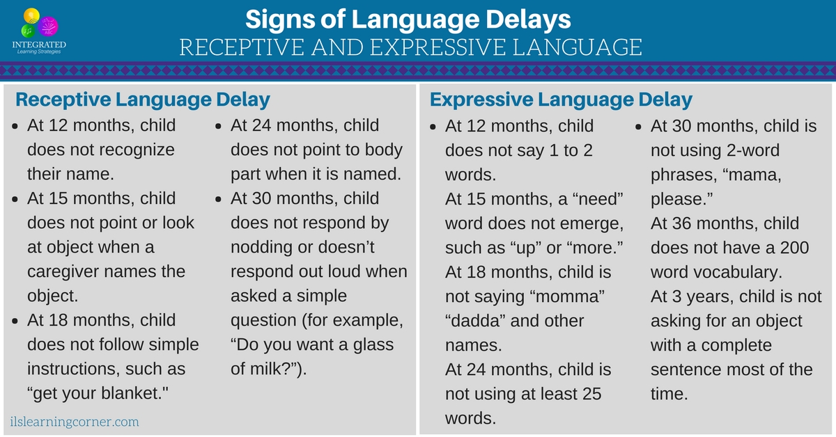 Language Delay Versus Language Disorder >> Late Bloomer Or Language Delay Common Delays In Your Child S