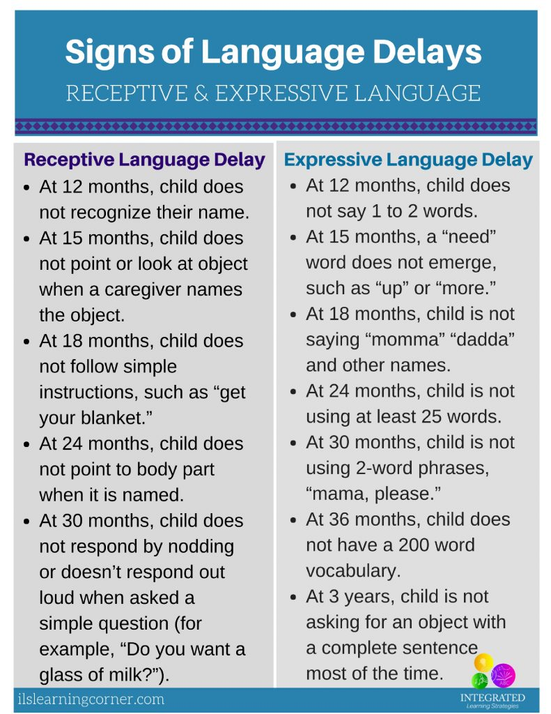Late Bloomer or Language Delay? Common Delays in Your Child's Language Development | ilslearningcorner.com