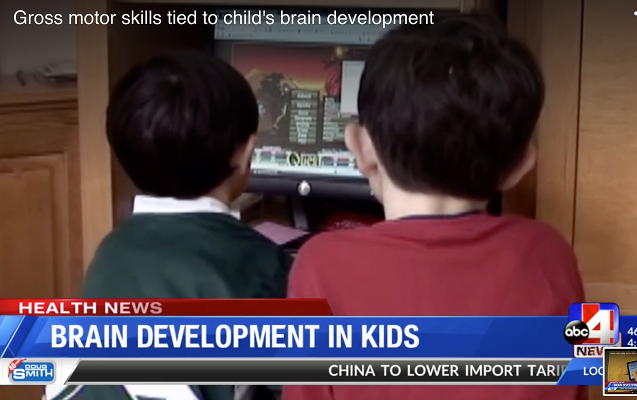 Gross motor skills tied to child's brain development | ilslearningcorner.com