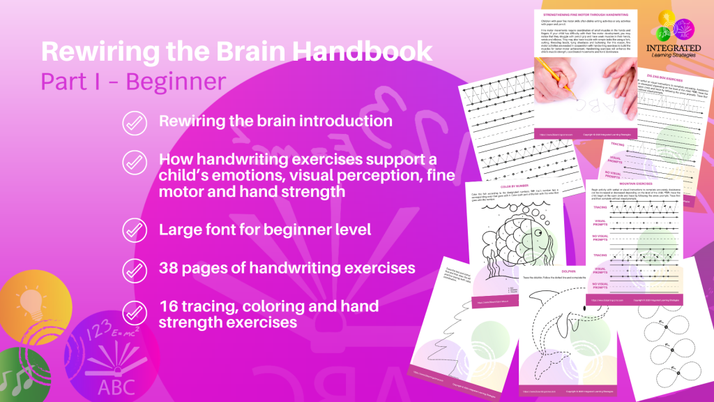 Rewiring the Brain Handbook Part I - Beginner Level for Emotional Development and Emotional Control | ilslearningcorner.com