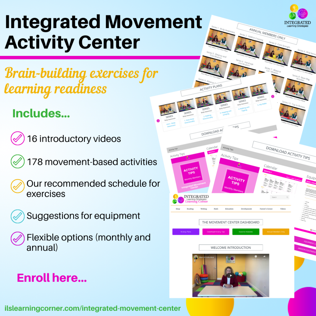 Integrated Movement Activity Center | ilslearningcorner.com