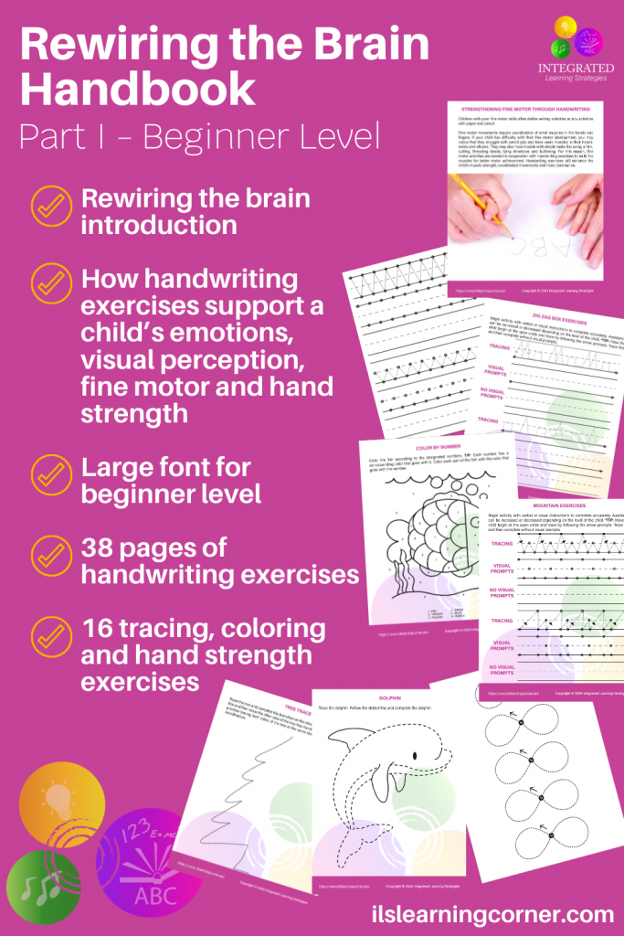 Handwriting Exercises: A little unknown secret for grounding your child's emotions