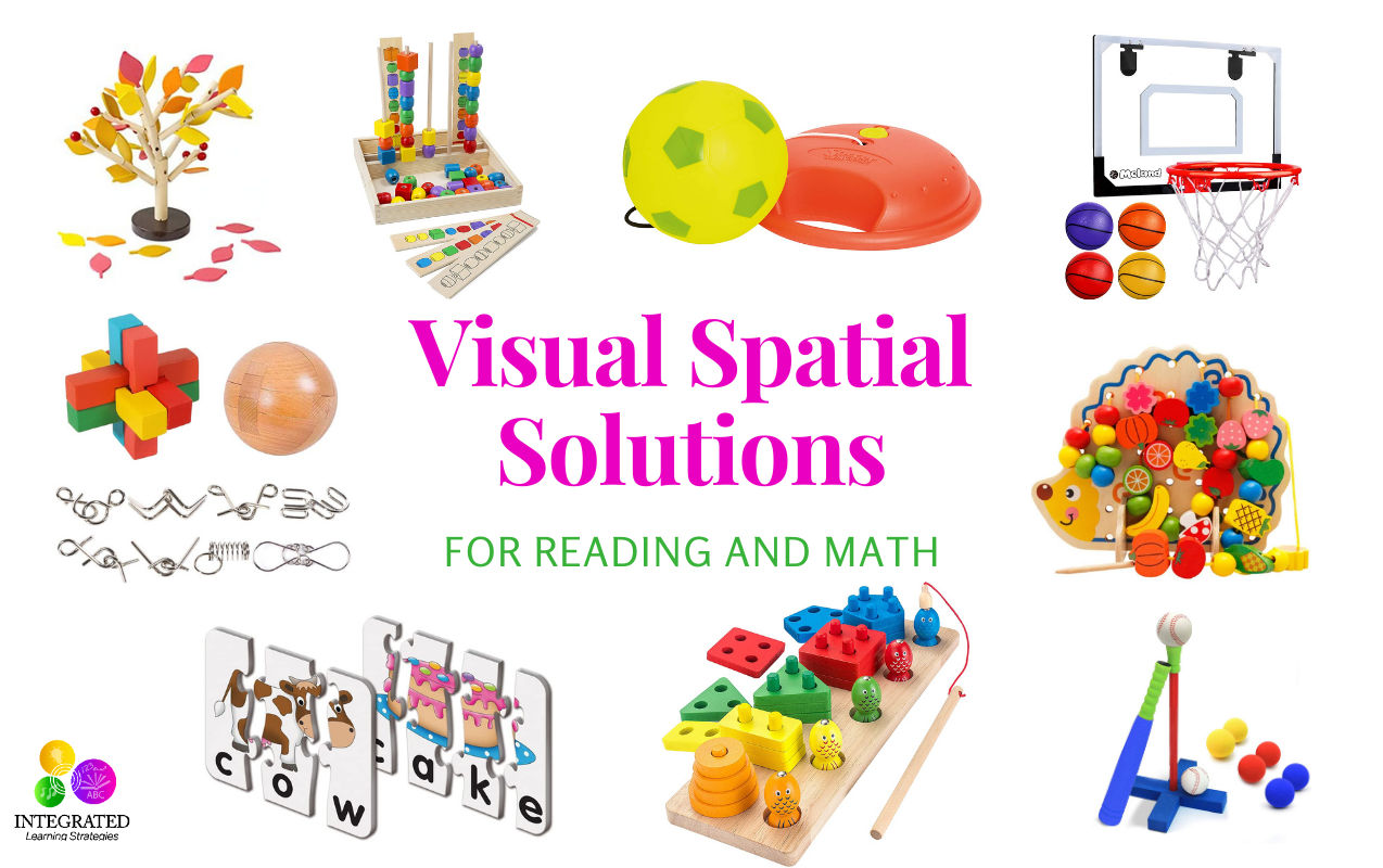 Clever Visual Spatial Solutions to Boost a Child's Reading and Math Skills